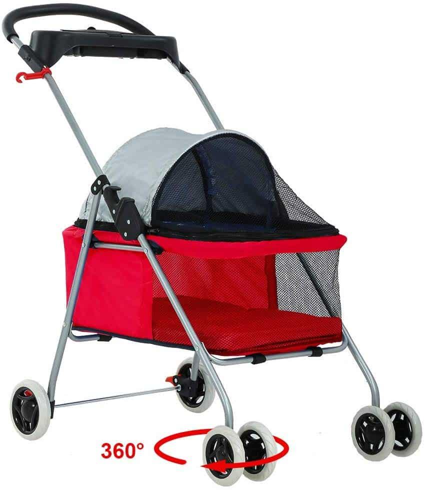 best strollers dogs